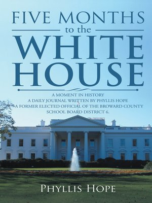 cover image of Five Months to the White House