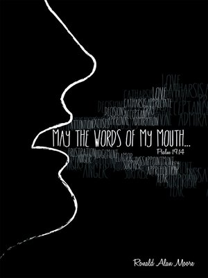 cover image of May the Words of My Mouth