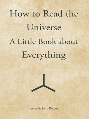 cover image of How to Read the Universe