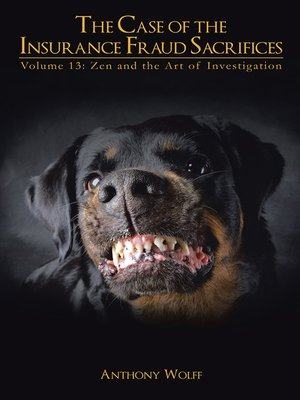 cover image of The Case of the Insurance Fraud Sacrifices