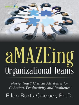 cover image of aMAZEing Organizational Teams