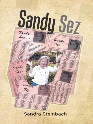 cover image of Sandy Sez