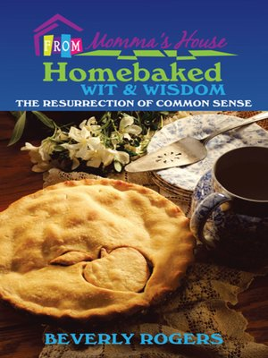 cover image of Homebaked Wit and Wisdom from Momma's House