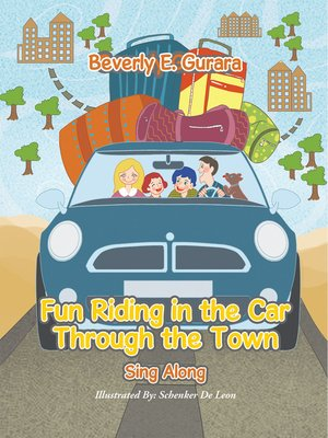 cover image of Fun Riding in the Car Through the Town