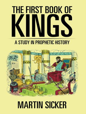 cover image of The First Book of Kings