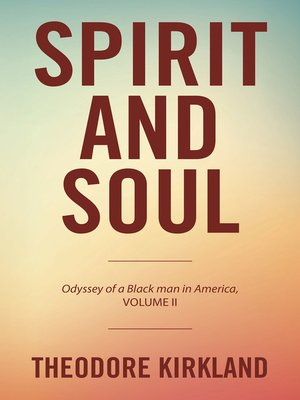 cover image of Spirit and Soul