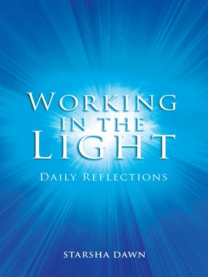 cover image of Working in the Light