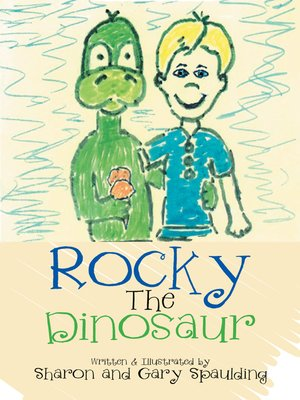 cover image of Rocky the Dinosaur