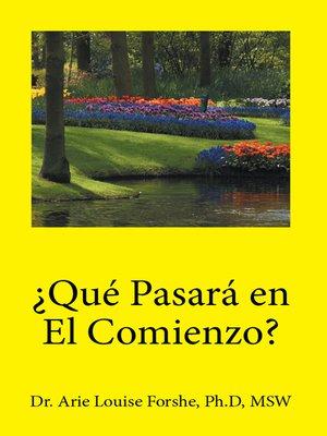 cover image of ¿Qué pasará en el comienzo?