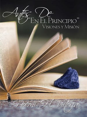 cover image of ANTES DE, EN EL PRINCIPIO