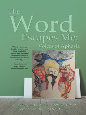 cover image of The Word Escapes Me