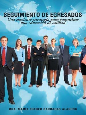 cover image of Seguimiento de egresados