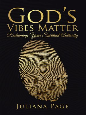 cover image of God'S Vibes Matter