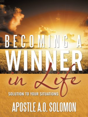 cover image of Becoming A Winner In Life