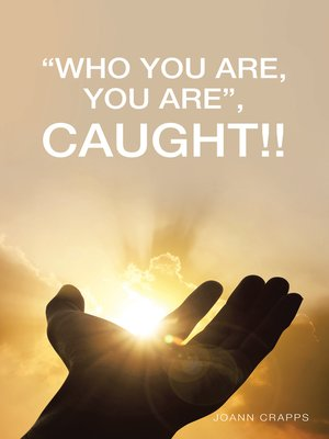 """cover image of """"Who You Are, You Are"""""""