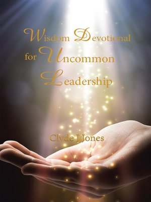 cover image of Wisdom Devotional for Uncommon Leadership