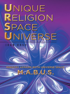cover image of Unique  Religion Space Universe