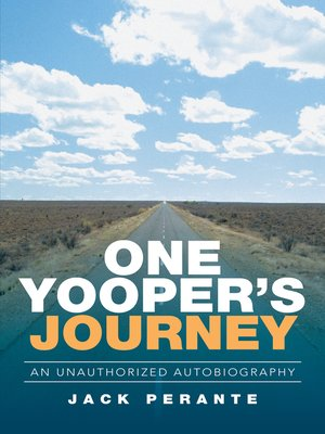 cover image of One Yooper's Journey
