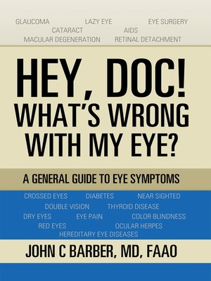 cover image of Hey, Doc! What's Wrong with My Eye?