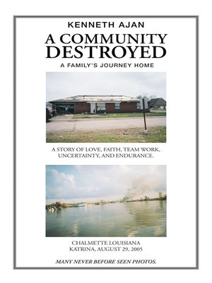 cover image of A Community Destroyed