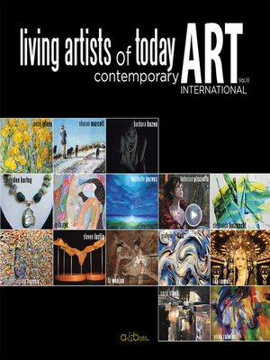cover image of Living Artists of Today