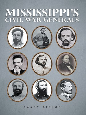 cover image of Mississippi's Civil War Generals