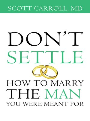 cover image of Dont Settle