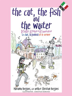 cover image of The Cat, the Fish and the Waiter (Italian Edition)