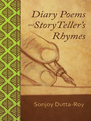 cover image of Diary Poems and Story Teller's Rhymes