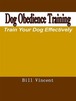 cover image of Dog Obedience Training