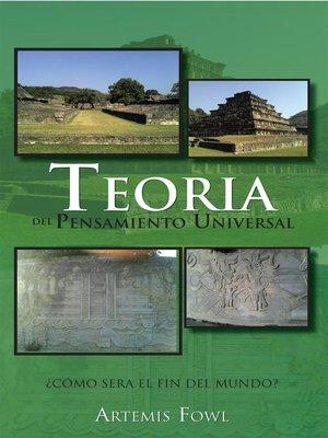 cover image of Teoria Del Pensamiento Universal 2