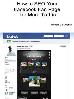 cover image of How to SEO Your Facebook Fan Page