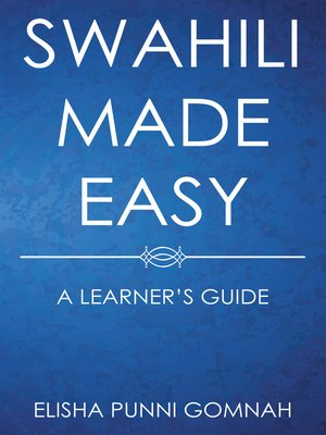 cover image of Swahili Made Easy