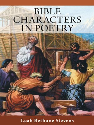 cover image of Bible Characters in Poetry