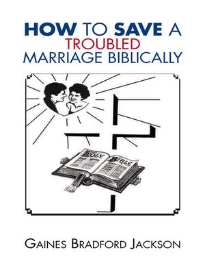 cover image of How to Save a Troubled Marriage Biblically