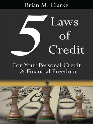 cover image of 5 Laws of Credit