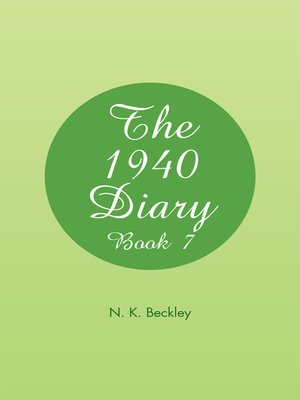 cover image of The 1940 Diary
