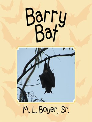 cover image of Barry Bat