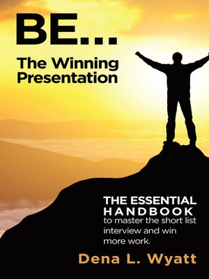 cover image of BE... the Winning Presentation