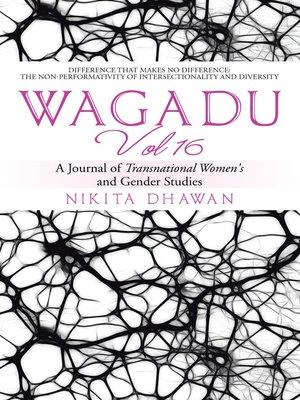 cover image of Wagadu Vol 16
