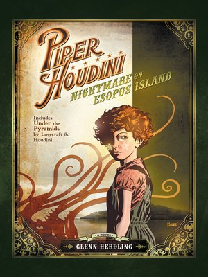 cover image of Piper Houdini Nightmare on Esopus Island