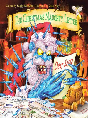 cover image of The Christmas Naughty Letter