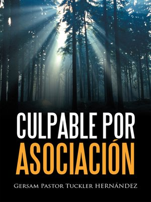 cover image of CULPABLE  POR  ASOCIACIN