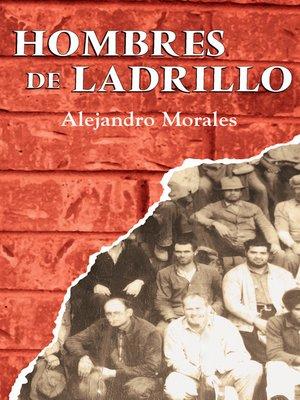 cover image of Hombres de ladrillo