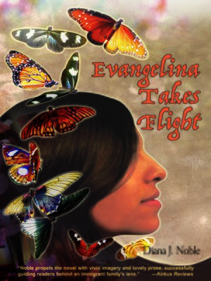 cover image of Evangelina Takes Flight