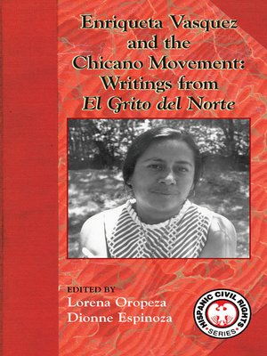 cover image of Enriqueta Velasquez and the Chicano Movement