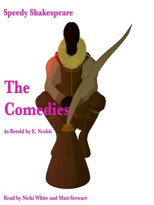 cover image of The Comedies as Retold by E. Nesbit