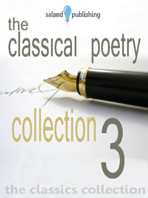 cover image of The Classical Poetry Collection, Volume 3