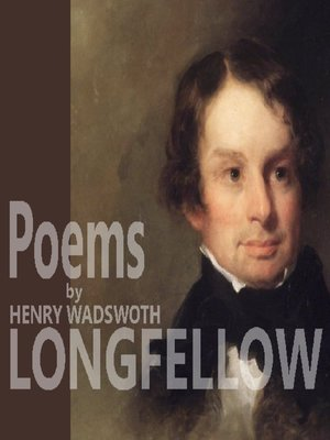 cover image of Poems by Henry Wadsworth Longfellow