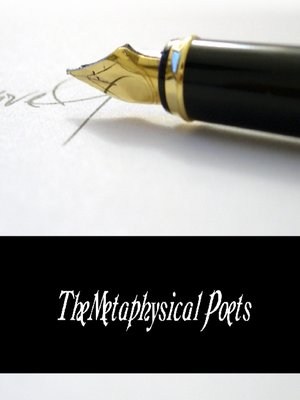 cover image of The Metaphysical Poets